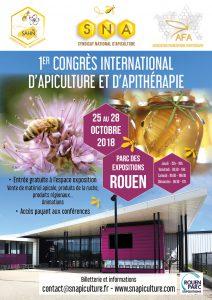 Affiche du congrès SNA de Rouen