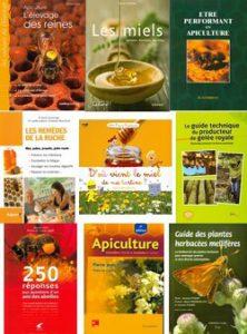 Couverture de livres d'apiculture vendus par le SNA